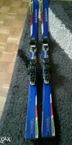 Skije Salomon 165cm