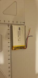 Li-ion baterija 3.7V 1200mAh