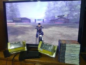 Playstation2 ps2 ps 2 slim 100% ok garn.