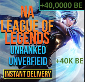 League of legends - LOL ACCOUNT + 40 000 BE