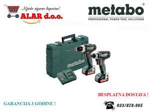 Metabo aku bušilica PowerMaxx Combo Set 2.7.1 12 V