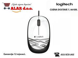 Logitech Miš M105 White