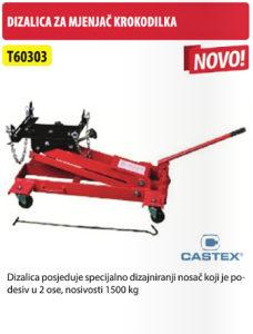 DIZALICA ZA MJENJAČ KROKODILKA 1500 KG T60303 CASTEX