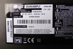 LG 55UK6400PLF