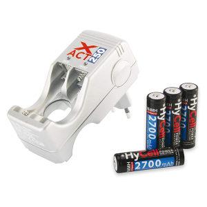 Hycell Xact 250 punjač + 4 AA komada 2700mAh
