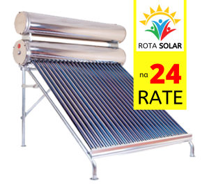Rota Solar kolektor za vodu - prirodni pritisak,150 L