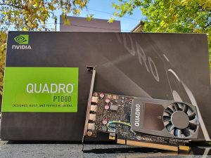 PNY Nvidia Quadro P1000 4GB GDDR5 128bita