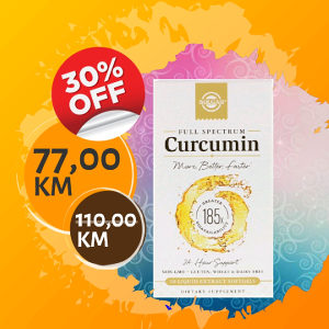 Curcumin / Kurkumin / Solgar / 60 kapsula / 30%OFF!!!