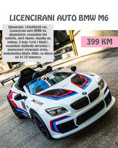 Auto na akumulator BMW licencirani