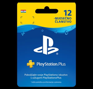 PlayStation PS Plus 12 MJESECI *AKCIJA*