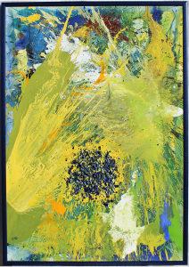 Slika AMAZONA GORI,akril na platnu, 130 x 90 cm
