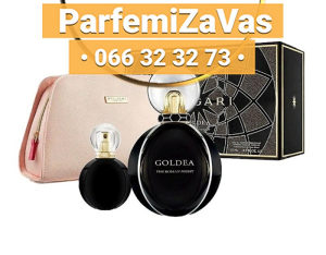 Bvlgari Goldea The Roman Night SET 75ml EDP + 15ml EDP + Neseser Ž 75 ml