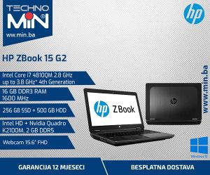 HP ZBook 15 G2, i7 4810MQ 2.8/16/256 500/Cam