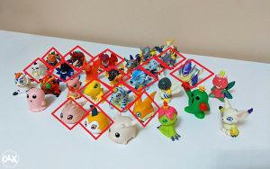 Rijetke Digimon figure - finger puppets - Bandai (1999)
