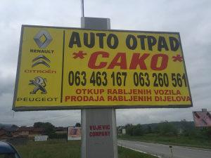 Otkup rabljeni vozila Autootpad Cako063/463-167