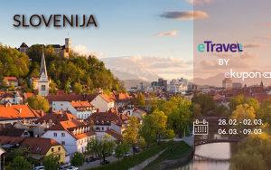 SLOVENIJA: Ljubljana i Bled (organizovano putovanje)