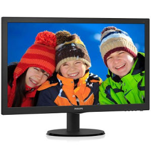Monitor LED Philips 243V5QHABA 23.6''/8ms/VGA/DVI/HDMI