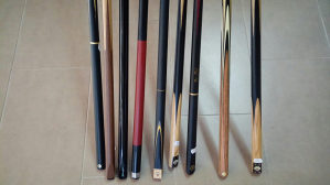 štapovi za  bilijar snooker