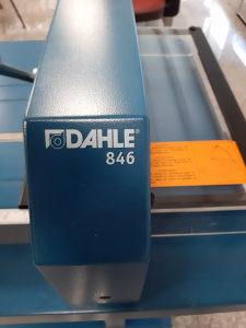 Graficki noz-Giljotina Dahle846+Postolje, 430mm, A3