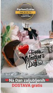 GRATIS Dostava na Dan zaljubljenih za sve artikle