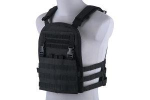 GFC Plate Carrier Tactical Vest - Crna
