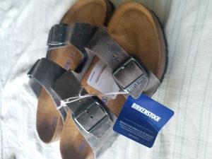 Kozne Birkenstock papuče