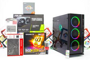 Gaming PC W-III 2; Ryzen 7 2700x; GTX 1660; SSD; 8GB