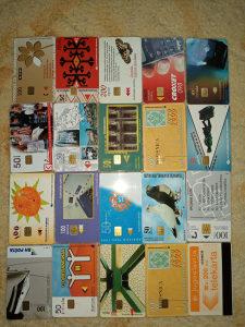 Telefonske kartice 20 komada