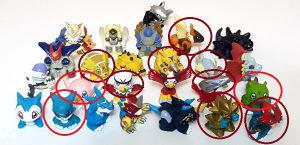 Rijetke Digimon Adventure 02 figure Bandai (2000)