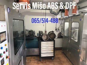 Ciscenje SERVIS DPF / FAP / SRC FILTER KATALIZATOR