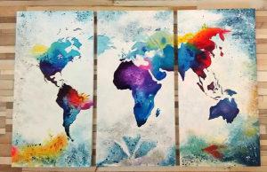 Besplatna dostava - umjetničke slike u dijelovima