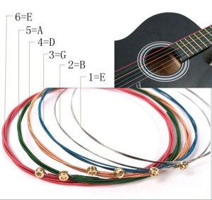 Žice za gitaru color mix