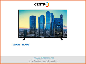 "GRUNDIG TV 65 GDU 7500 B, 65"" (139 cm), UHD/4K, Smart,"