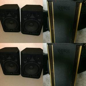 Zvucne kutije + bas bin dupla 15ka