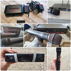 Mikrofoni SHURE, SENNHEISER, AKG