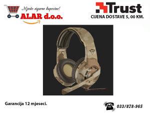 Trust GXT 310D Slušalice Radius Desert Camo Gaming