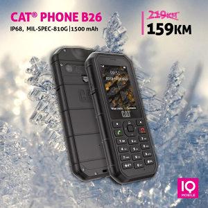 Cat B26 | 2,4 incha | IP68 | Dual Sim