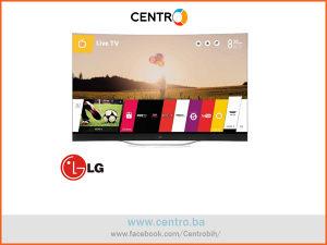"""LG TV 77EC980V OLED, 77""""-196 cm,UHD,3D,Zakriv.,Smart"""