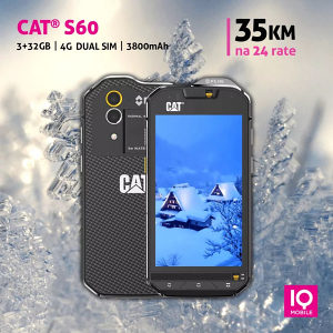 Cat S60 |4,7 incha |3GB+32GB | 3800mAh | Dual SIM