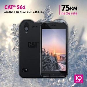 Cat S61   5,2 incha  4GB+64GB   4500mAh   Dual SIM