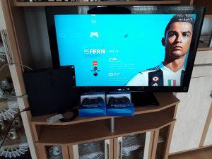PS3 SLIM CIPOVAN 320GB/30 IGARA PES 18 GTA V 2 DZOJSTIK