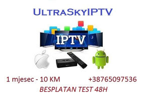 UltraSky IPTV HD TV kanali 48h test