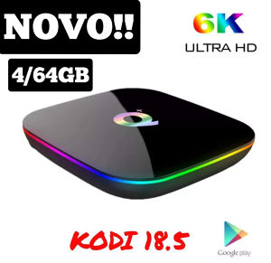 ANDROID TV BOX*4/64 * Q+ ROYAL ...9.0 Sistem!!