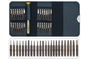 Set odvijača za finu mehaniku, magnet, 26 dijelni,SILUX