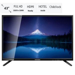 """Grundig 43"""" FullHD LED TV 43 MLE 4820 BN"""