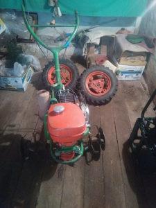 Freza agria, motor za navodnjavanje