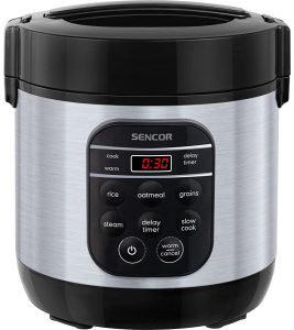 Kuhalo za rizu 0.6L 350W Sencor SRM0650SS (025919)