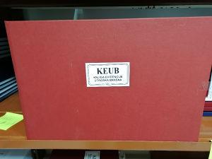 Keub - knjiga utroška brašna A3