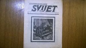 Stari časopis SVIJET 1936g