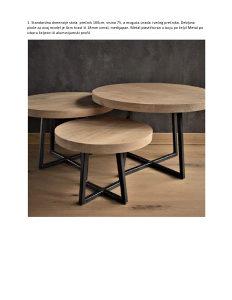 Moderni stolovi